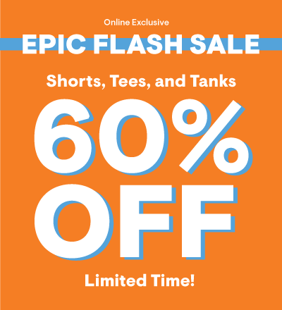 Epic Flash Sale 60% Off