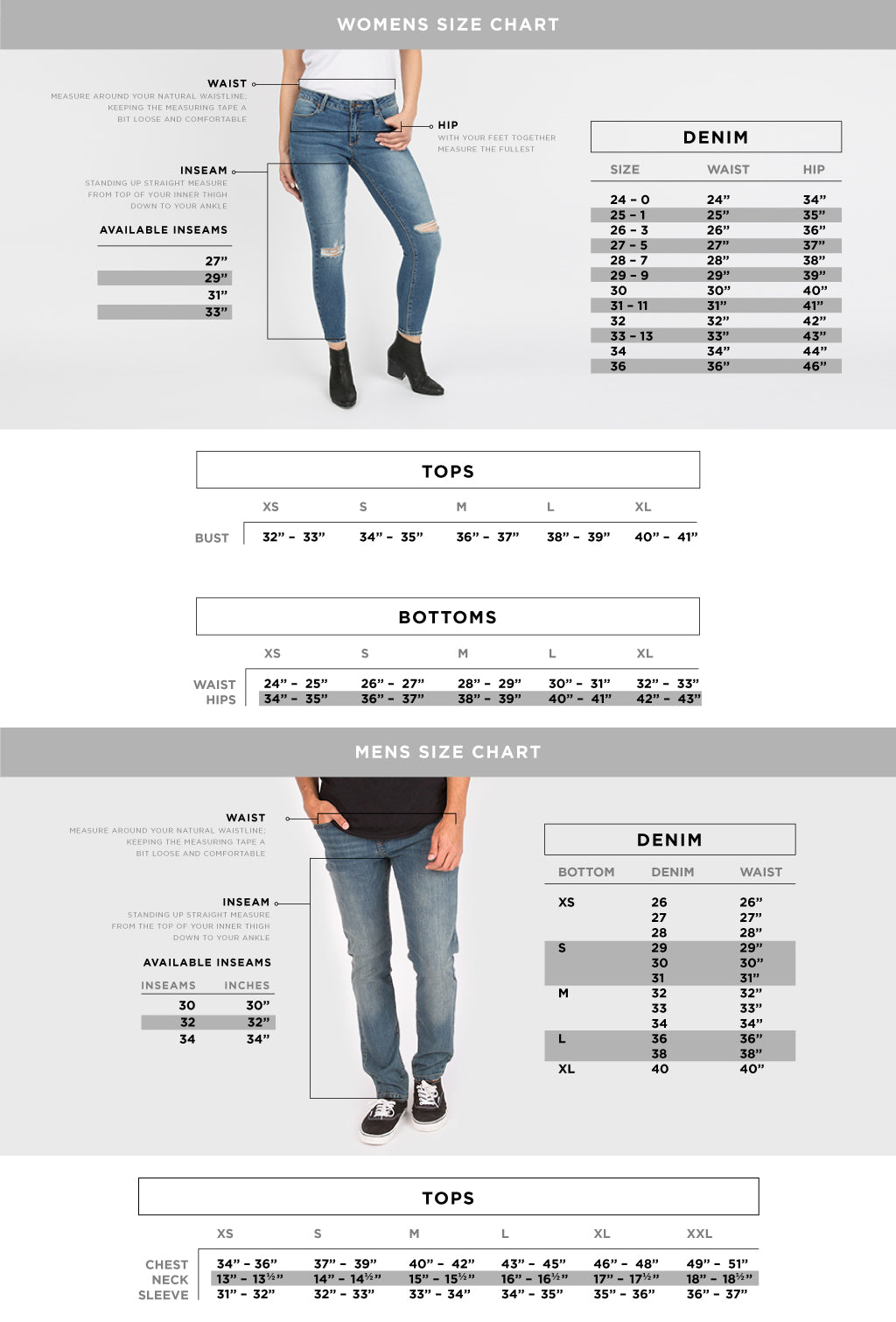 6a75272152 Size Charts – Bluenotes