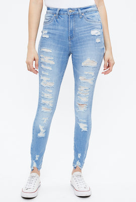 Jegging taille haute Emma