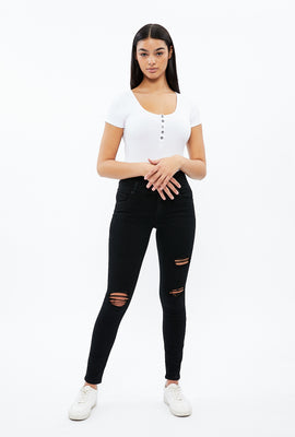 Stacked High Rise Olivia Shape Up Repreve Jegging
