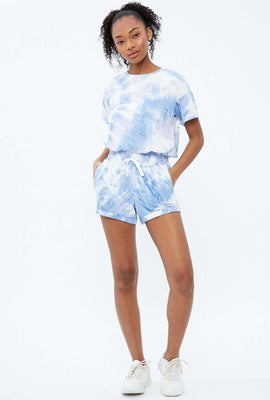 Super Soft Paperbag Tie Dye Short