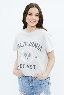 California Coast Boyfriend Graphic Tee
