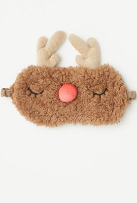Holiday Animal Face Sleep Mask