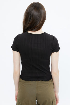 Super Soft Ribbed Baby Tee