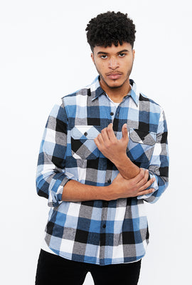 North Western 2 Pocket Plaid Flannel
