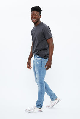 Chase Distressed Skinny Jean