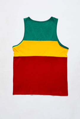 Colour Block Pocket Tank