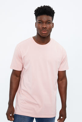 Basic Solid Crew Neck Tee