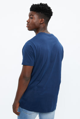Basic Melange V-Neck Tee