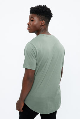 Basic Scoop Hem Tee