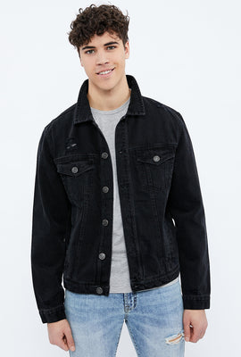 Jacket de camionneur en denim