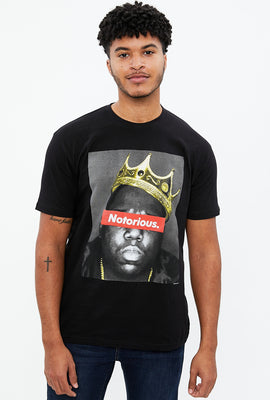 Notorious BIG Crown Graphic Tee