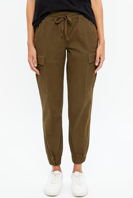 Relaxed Twill Cargo Jogger