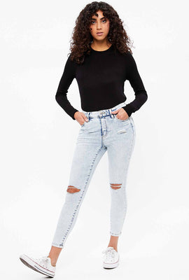 High Rise Emma Ankle Jegging