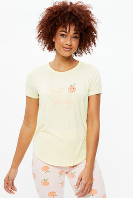 T-shirt Just Peachy super doux