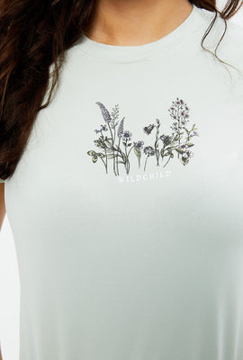 Super Soft Wild Child Graphic Tee