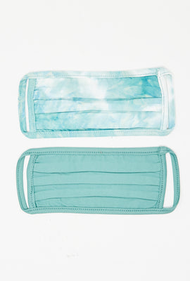 Super Soft Reusable Tie Dye Face Mask 2-Pack