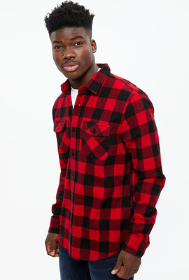 North Western 2 Pocket Buffalo Plaid Flannel