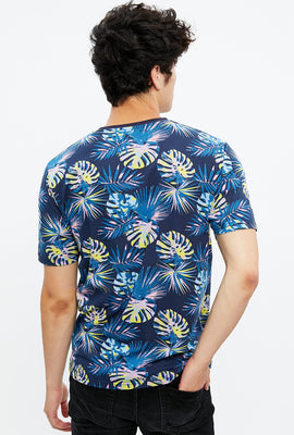 Tropical Fern All Over Print Tee