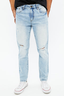 Jackson Slim Taper Distressed Jean