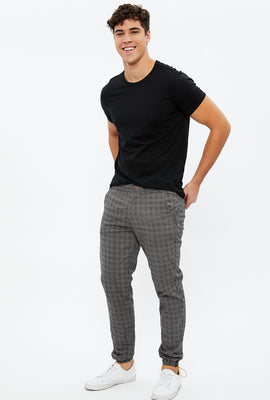 Slim Chino Plaid Jogger