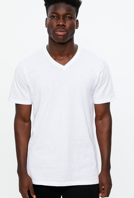 T-shirt col en V de base