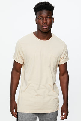 Roll Cuff Pocket Tee