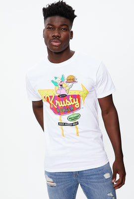 Krusty Burger Graphic Tee
