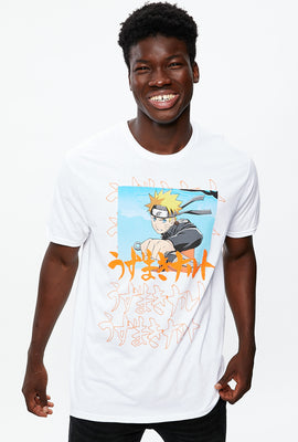 Naruto Kanji Text Graphic Tee