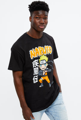 Naruto 8bit Graphic Tee