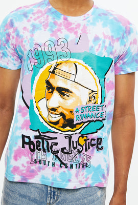 Poetic Justice Tie Dye Graphic Tee