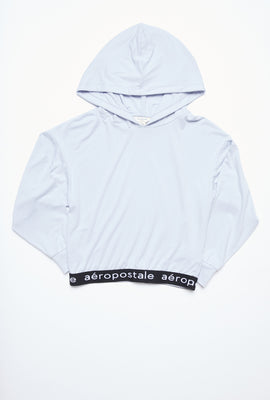 AERO Girls Super Soft Jacquard Waistband Hoodie