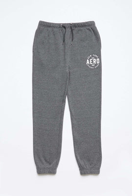 Girls Fleece Graphic Hip Print Basic Jogger