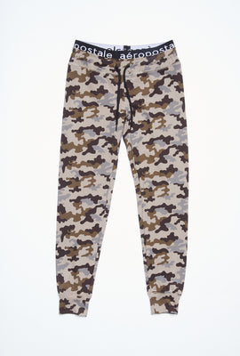AERO Girls Super Soft Printed Jacquard Waistband Jogger