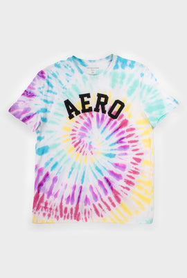 AERO Girls Tie Dye Aero Logo Graphic Tee
