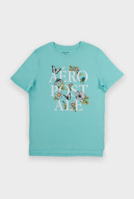 AERO Girls Hi-Lo Aéropostale Graphic Tee