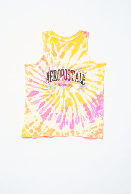 AERO Girls Tie Dye Aéropostale New York Graphic Tank Top