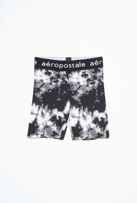 AERO Girls Super Soft Printed Jacquard Waistband Biker Short