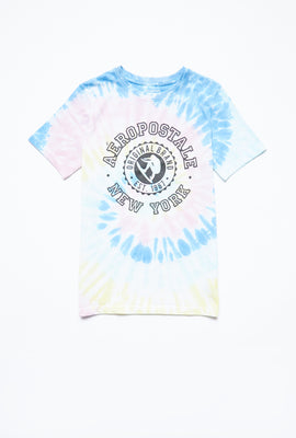 AERO Boys Swirl Tie Dye Aéropostale New York Graphic Tee