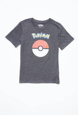AERO Boys Pokemon Ball Graphic Tee