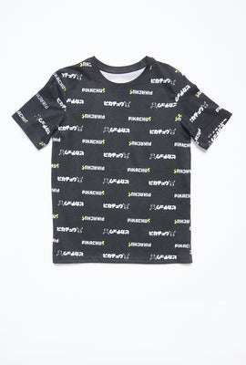 AERO Boys Pikachu All Over Print Graphic Tee