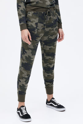 Cloud Jersey Camouflage Jogger