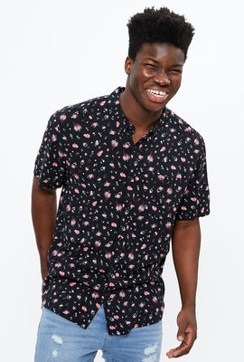 Mini Floral Short Sleeve Shirt