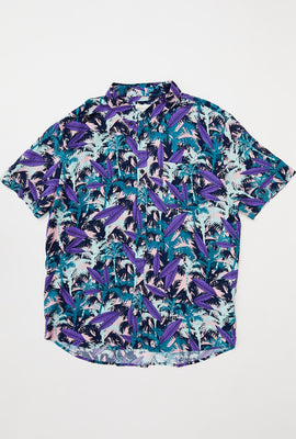 Multi Palm Short Sleeve Shirt