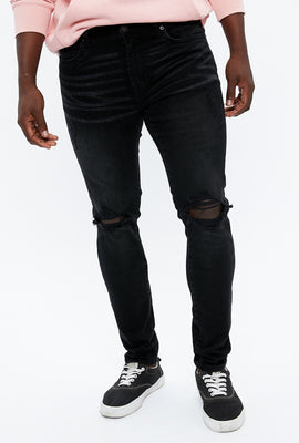 Max Stretch Super Skinny Destroyed Jean