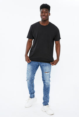 AERO Max Skinny Destroyed Jean