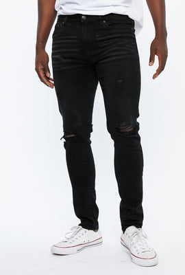 AERO Max Stretch Skinny Destroyed Jean