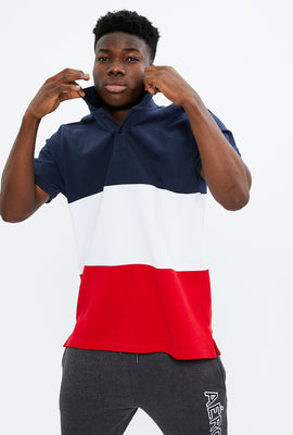 Aéropostale Colour Block Pique Polo