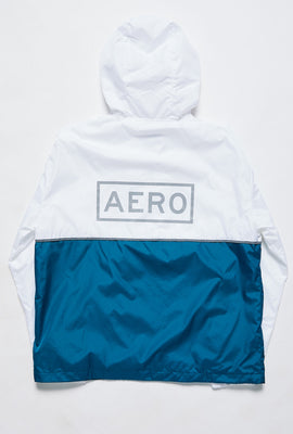Aéropostale Reflective AERO Half Zip Colour Block Windbreaker