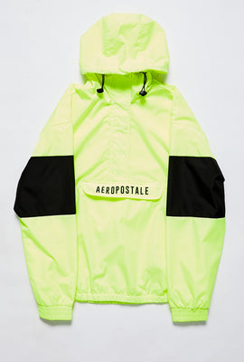 Aéropostale Half Zip Colour Block Pullover Windbreaker